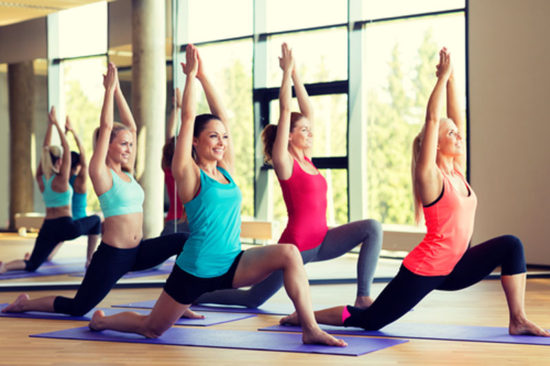 Yoga Awareness Month: skin and exercise