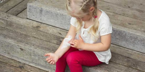 Teaching Your Child How to Manage Eczema